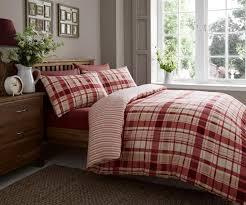 christmas flannelette duvet flannel quilt cover 100 cotton