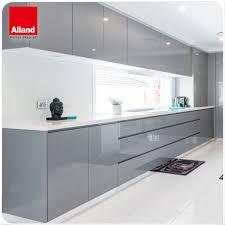 grey finish kitchen cabinets charcoal high glossy acrylic finish kitchen cabinets with white quartz buy charcoal high glossy lacquer color finish acrylic nailpolish