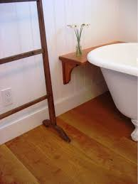 Hardwood Floors In Bathroom Cherry Wide Plank Wood Flooring
