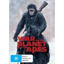 war for the planet of the apes dvd big w