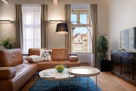 Living Room With Sofa One Bedroom Charming Apartment Prague 1 Old Town Prague Stay