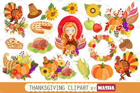 thanksgiving graphics thanksgiving clipart illustrations creative market