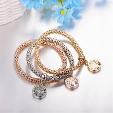 bracelet life images Tree of life quot charm bracelet with austrian crystals pandoras box inc jpg