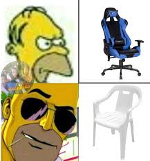 Meme Gamer - la verdadera silla gamer meme subido por thomasp memedroid