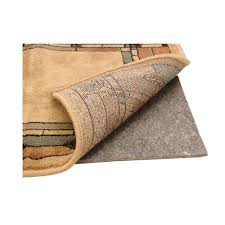 Rubber Backed Bathroom Rugs by American Slide Stop Premium All Surface 2 Ft X 8 Ft Fiber And
