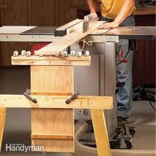 how make a table saw table saws the family handyman