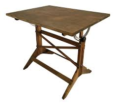 Vintage Drafting Tables For Sale by Vintage Adjustable Industrial Architect Drafting Table Chairish