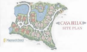 Casa Bella Floor Plan by Casa Bella Neighborhood At Hammock Dunes