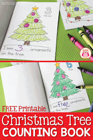 tree counting book free printable early learning ideas