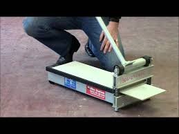 Laminate Flooring Saw How To Use The Hire Station Laminate Floor Cutter Youtube