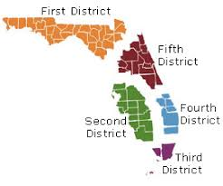 federal circuit court map district courts of appeal