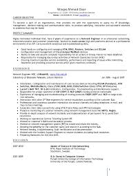 Network Engineer Resume Sample Cisco by Resume