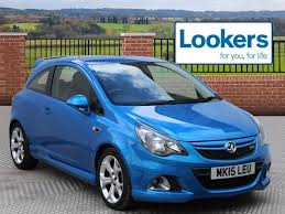 vauxhall lookers vauxhall corsa vxr blue 2015 03 01 in st helens merseyside