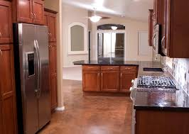 Cherrywood Kitchen Cabinets Black Granite Countertops With Cherry Cabinets Roselawnlutheran