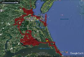 Map Of Outer Banks Nc The Center For Conservation Biology U2013 Reese Lukei