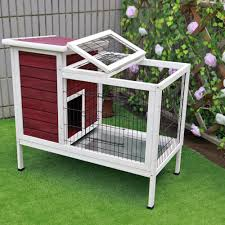 Sale Rabbit Hutches Amazon Com Petsfit 36