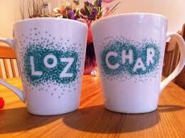 cool way to personalise mugs mugzzzz pinterest christmas