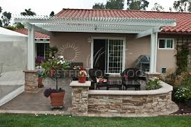 Louvered Patio Roof Alumawood Lattice Type Patio Covers Gallery Western Outdoor Design