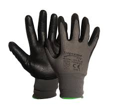 tff nitrile foam palm general safety glove conforms to en388