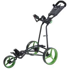 this great value and stylish looking auto fold golf trolley push