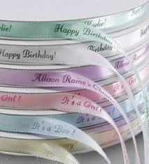 customized ribbon personalized gifts personalized iridescent edge ribbon custom