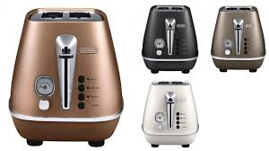 Two Slice Toaster Reviews Delonghi Distinta 2 Slice Toaster Toasters Small Kitchen