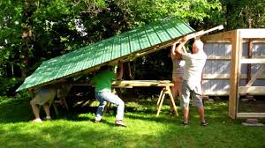raising a shed in 30 minutes youtube