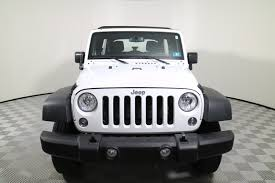 jeep wrangler white 4 door white jeep wrangler in west virginia for sale used cars on