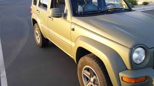 2002 jeep liberty plasti dipped camo green youtube