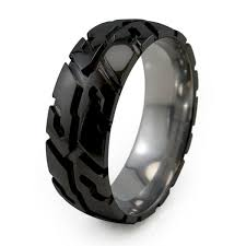 titanium wedding rings titanium tire ring titanium rings