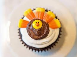 thanksgiving craft turkey cupcakes hgtv