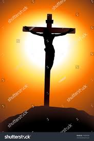 vector illustration jesus christ on cross stock vector 74009959