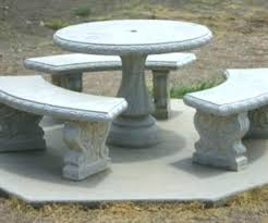 cement table and bench cement outdoor table cement outdoor furniture cement outdoor table