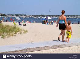 massachusetts cape cod hyannis lewis bay kalmus beach park sand