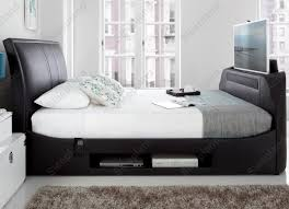 Bed Frame With Tv Built In Kaydian Maximus Multi Media Tv Bed With Sound Bar 5ft Kingsize