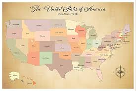 us map for sale sale united states push pin travel map paper
