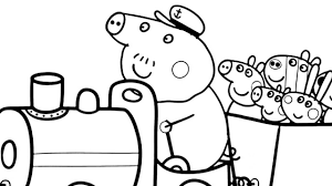 emejing peppa pig coloring pages pictures printable coloring