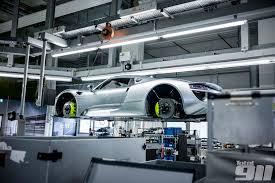 Porsche 918 Liquid Metal - the porsche 918 spyder production line will blow your mind u2013 part