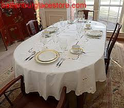 tablecloth imperial design embroidery