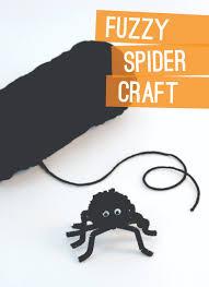 easy spider craft ideas make a fuzzy spider u0026 paper plate web