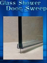 shower glass door seal glass shower door rubber sweep
