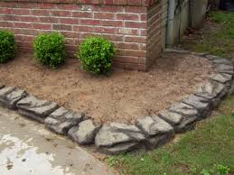 Patio Edging Stones by Stamped Concrete Patio Bentonville