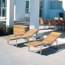 Chaise Lounge Contemporary Contemporary Teak Outdoor Chaise Lounge Contemporary Patio