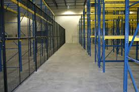 Partitions Racking Wire Partitions Cooper Premier Dc Construction