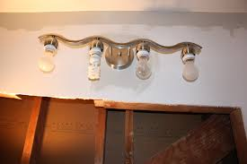 bathroom wall lights with electrical outlet light bathroom