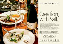 creation cuisine creation wines events tastings nosyrosy