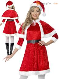 mrs claus costumes miss santa christmas fancy dress costume mrs claus womens