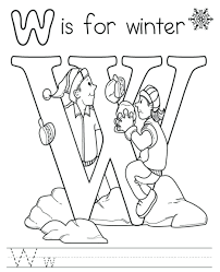 winter sports coloring pages free printable alphabet