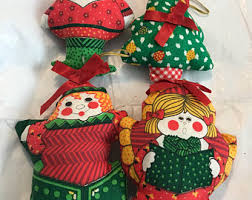 sewn ornaments etsy