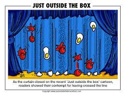 Curtain Cartoon by Close The Curtain U2013 Just Outside The Box Cartoon